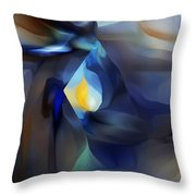 Abstract 051513a Throw Pillow