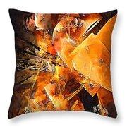 Abstract 0549 - Marucii Throw Pillow