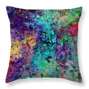 Abstract 061313 Throw Pillow