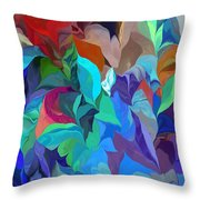 Abstract 062713 Throw Pillow