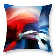 Abstract 071713 Throw Pillow
