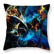 Abstract 080613 Throw Pillow