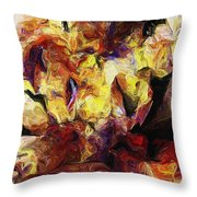 Abstract 082413 Throw Pillow