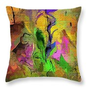 Abstract 082713a Throw Pillow