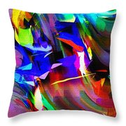 Abstract 082713d Throw Pillow