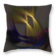 Abstract 090613 Throw Pillow