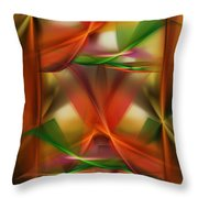 Abstract 092313 Throw Pillow