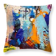 Abstract 10 Throw Pillow