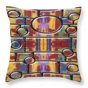 Abstract 94 Throw Pillow