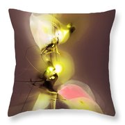 Abstract 100813 Throw Pillow