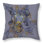 Abstract 101913 Throw Pillow