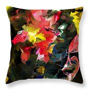 Abstract 102513 Throw Pillow