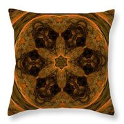 Abstract 105b Throw Pillow