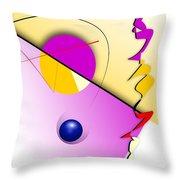 Abstract 108 Marucii Throw Pillow