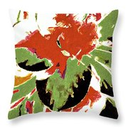 Abstract 109 Throw Pillow