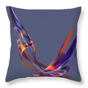 Abstract 111913 Throw Pillow