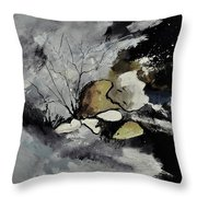 Abstract 1189963 Throw Pillow