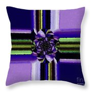 Abstract 119 Throw Pillow
