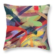 Abstract #12 Throw Pillow