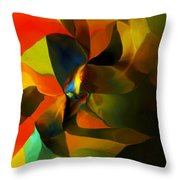 Abstract 120412 Throw Pillow