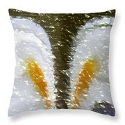 Abstract 121 Throw Pillow