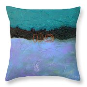 Abstract #128 Throw Pillow