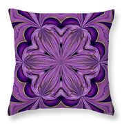 Abstract 129 Throw Pillow