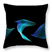 Abstract 134 Throw Pillow