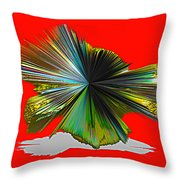 Abstract #140810 - Untitled  Throw Pillow