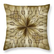 Abstract 15-02 Throw Pillow