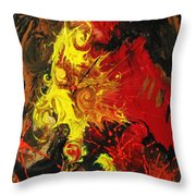 Abstract #15 Throw Pillow