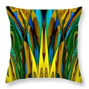 Abstract 150 Throw Pillow