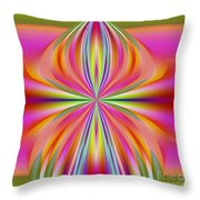 Abstract 153 Throw Pillow