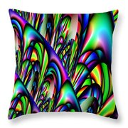 Abstract 155 Throw Pillow