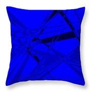 Abstract 156 Throw Pillow by J D Owen