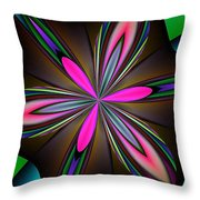 Abstract 157 Throw Pillow