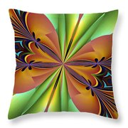 Abstract 159 Throw Pillow