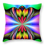 Abstract 160 Throw Pillow