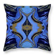Abstract 162 Throw Pillow