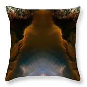 Abstract 165 Throw Pillow