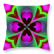 Abstract 169 Throw Pillow