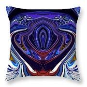 Abstract 171 Throw Pillow by J D Owen