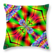 Abstract 172 Throw Pillow