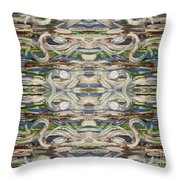 Abstract 173 Throw Pillow