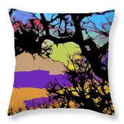 Abstract 176 Throw Pillow