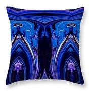 Abstract 178 Throw Pillow by J D Owen