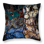 Abstract 1785 Throw Pillow