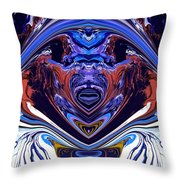 Abstract 179 Throw Pillow by J D Owen