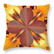 Abstract 180 Throw Pillow