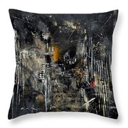 Abstract 184150 Throw Pillow
